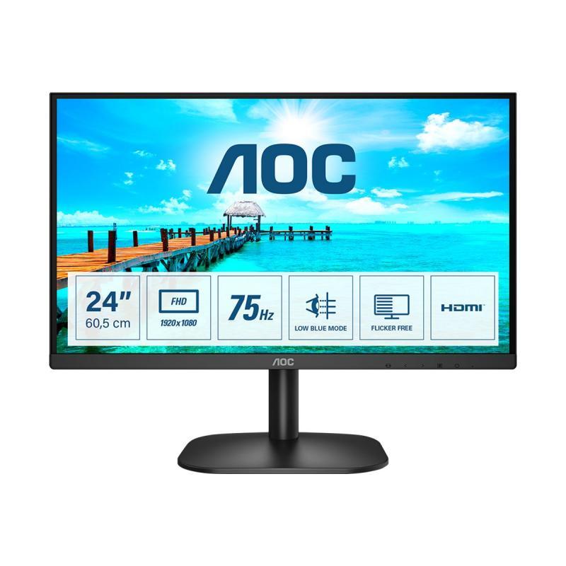 """AOC Monitor (24B2XHM2) 24"""" (24B2XHM2)"""