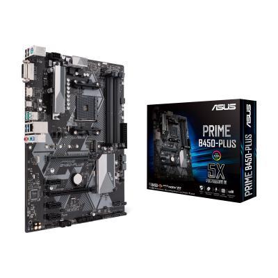 ASUS Mainboard-AM4 B450 ASUS Prime B450-Plus (90MB0YN0-M0EAY0)