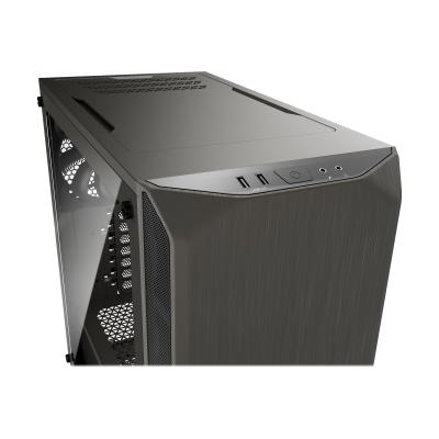 be quiet! Pure Base 500 Window Metallic Gray (BGW36)