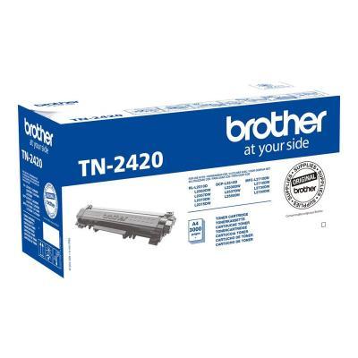 Brother Cartridge TN-2420 TN2420 Black Schwarz (TN2420)