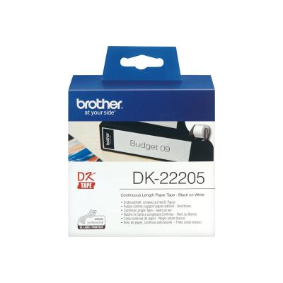 Brother Endlos-Etikett EndlosEtikett DK-22205 DK22205 (DK22205)