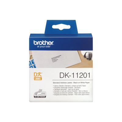 Brother P-touch Ptouch White DK11201 (DK-11201) (DK11201)