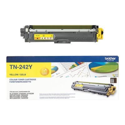 Brother Toner TN-242 TN242 Yellow Gelb 1,4k (TN242Y)