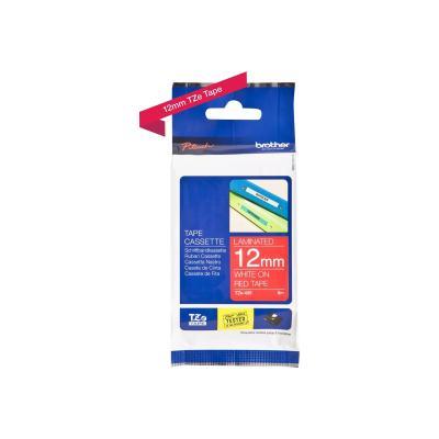 Brother TZE-Schriftbandkassette TZESchriftbandkassette TZe-435 TZe435 Red White (TZE435)