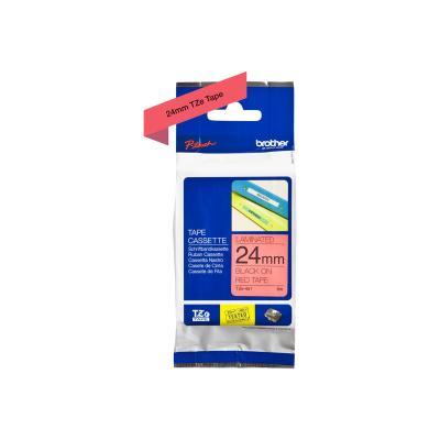 Brother TZE-Schriftbandkassette TZESchriftbandkassette TZe-451 TZe451 Red Black (TZE451)