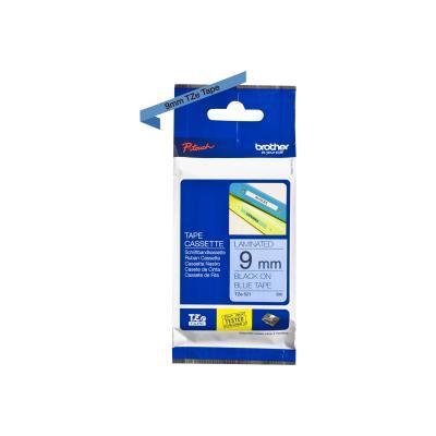Brother TZE-Schriftbandkassette TZESchriftbandkassette TZe-521 TZe521 Blue Black (TZE521)