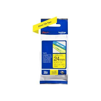 Brother TZE-Schriftbandkassette TZESchriftbandkassette TZe-651 TZe651 Yellow Black (TZE651)