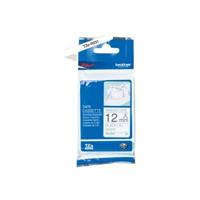 Brother TZE-Schriftbandkassette TZESchriftbandkassette TZe-R231 TZeR231 White Black (TZER231)