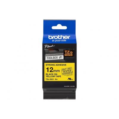 Brother TZE-Schriftbandkassette TZESchriftbandkassette TZe-S631 TZeS631 Yellow Black (TZES631)