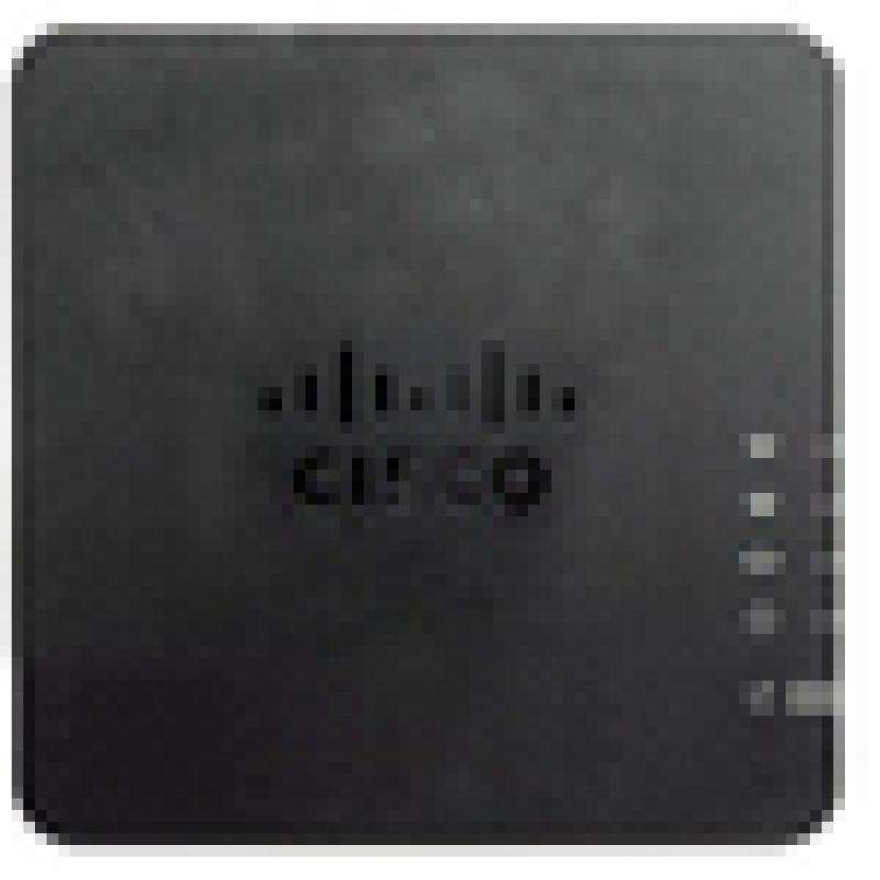 Cisco ATA 192 Multiplatform Analog Telephone Adapter (ATA192-3PW-K9)