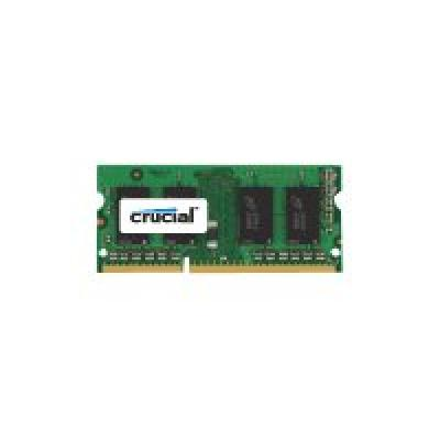 Crucial RAM SO-DIMM DDR3L 8GB / 1600Mhz  [1x8GB] CL11 1.35 rt (CT102464BF160B)