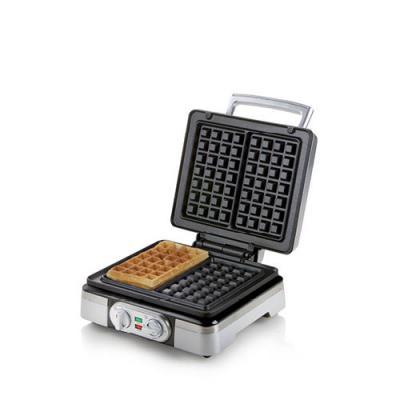 Domo Waffle exclusiv silver (DO9149W)