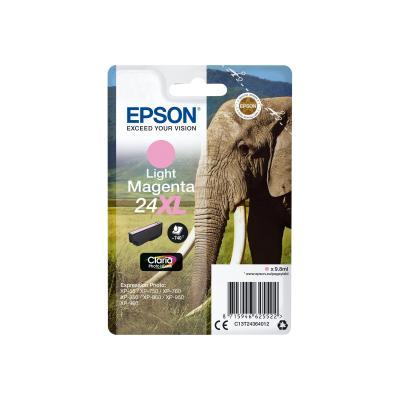 Epson Ink No 24 Epson24 Epson 24 XL Light Magenta (C13T24364012)
