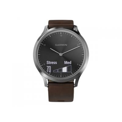 Garmin Smartwatch vivomove HR Premium L black/silver (010-01850-04)