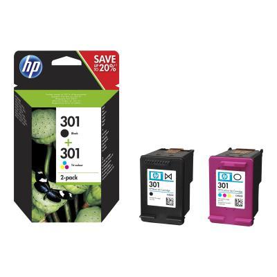 HP Ink No 301 HP301 HP 301 Combo Pack Black Schwarz + Color (N9J72AE)