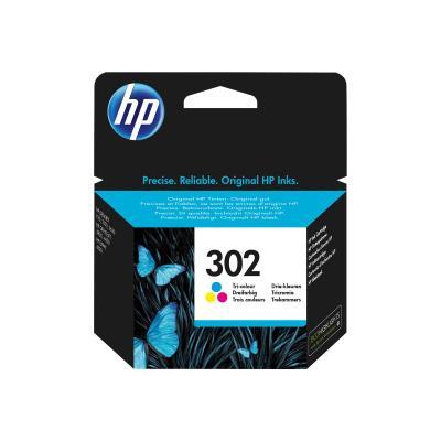 HP Ink No 302 HP302 HP 302 Color (F6U65AE#UUS)