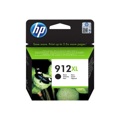 HP Ink No 912XL HP912XL HP 912XL Black Schwarz (3YL84AE#BGX)