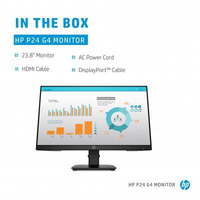 "HPMonitor P24 G4 23,8"" (1A7E5AA#ABB)"