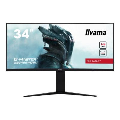 """iiyama Monitor GB3466WQSU-B1 GB3466WQSUB1 34"""" (GB3466WQSU-B1) (GB3466WQSUB1)"""