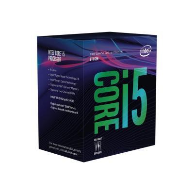Intel CPU 1151-2 INTEL Core i5-8400 2,8-4,0 GHz 9MB 6/6 Box 65W (BX80684I58400)