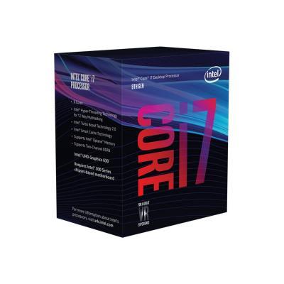 Intel CPU 1151-2 INTEL Core i7-8700 3,2-4,6 GHz 12MB 6/12 Box 65W (BX80684I78700)