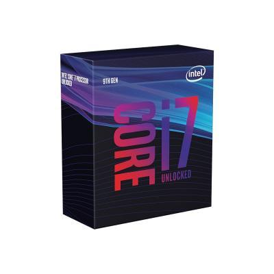 Intel CPU 1151-2 INTEL Core i7-9700K 3,6-4,9 GHz 12MB 8/8 Box 95W (BX80684I79700K)