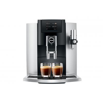 Jura Coffeemachine E8 silver/black (15293)