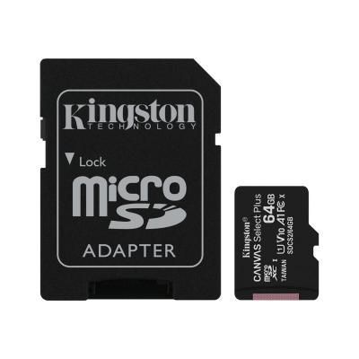 Kingston SD Card Canvas Select Plus 64 GB (SDCS2/64GB)