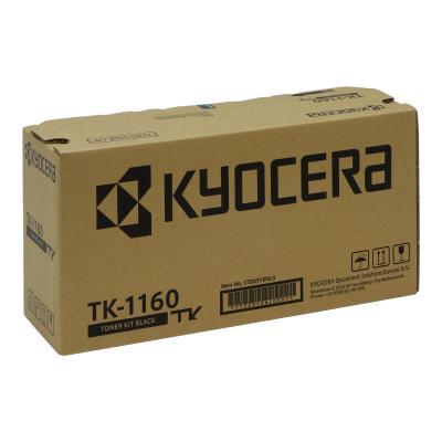 Kyocera Cartridge TK-1160 TK1160 Black Schwarz (1T02RY0NL0)