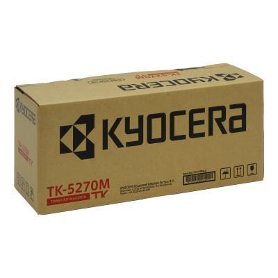 Kyocera Toner TK-5270M TK5270M Toner-Kit TonerKit Magenta (1T02TVBNL0)