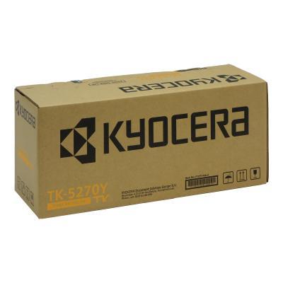 Kyocera Toner TK-5270Y TK5270Y Toner-Kit TonerKit Yellow Gelb (1T02TVANL0)