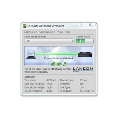 LANCOM Upgrade Advanced VPN Client WIN (61603)