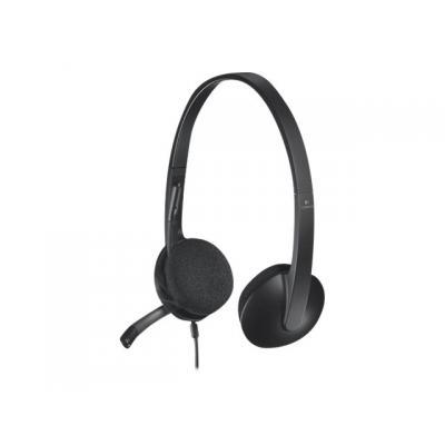 Logitech Headset H340 USB (981-000475) (981000475)