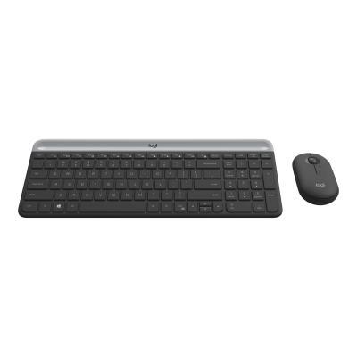 Logitech Keyboard Wireless Combo Slim MK470 [DEU] (920-009188) (920009188)