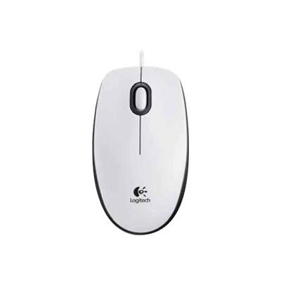 Logitech Mouse M100 White (910-005004) (910005004)