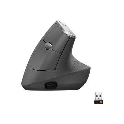 Logitech Mouse MX Vertical wireless Bluetooth optical (910-005448) (910005448)