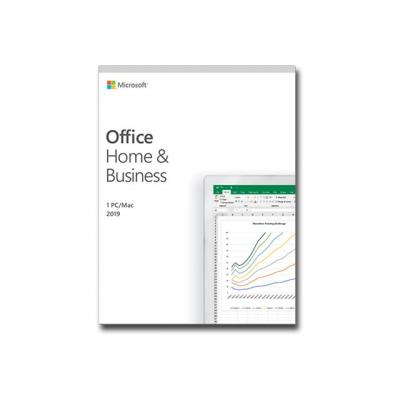 Microsoft Office Home & Business 2019 Medialess P6 Englisch (T5D-03308)