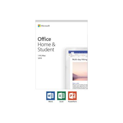 Microsoft Office Home & Student 2019 Medialess P6 German (79G-05153)
