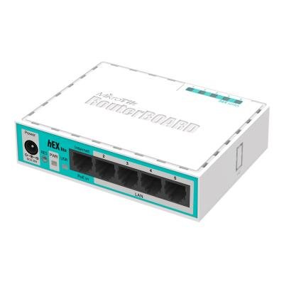 MikroTik Router hEX lite (RB750r2)