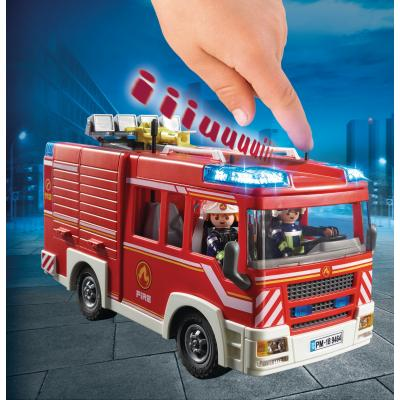 Playmobil 9464 Feuerwehr-Rüstfahrzeug mit Licht und Sound (9464)