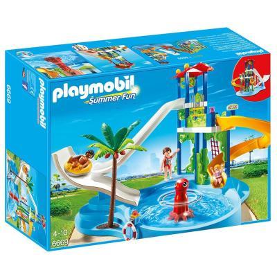 Playmobil Summer Fun - Aquapark mit Rutschentower (6669)