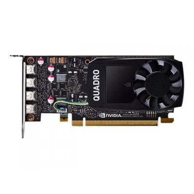 PNY Grafikkarten NVIDIA Quadro P1000 DVI 4GB (VCQP1000DVIV2-PB) (VCQP1000DVIV2PB)