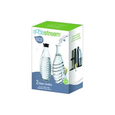 SodaStream Glaskaraffe 0,6l 2er-Pack (1047200490)